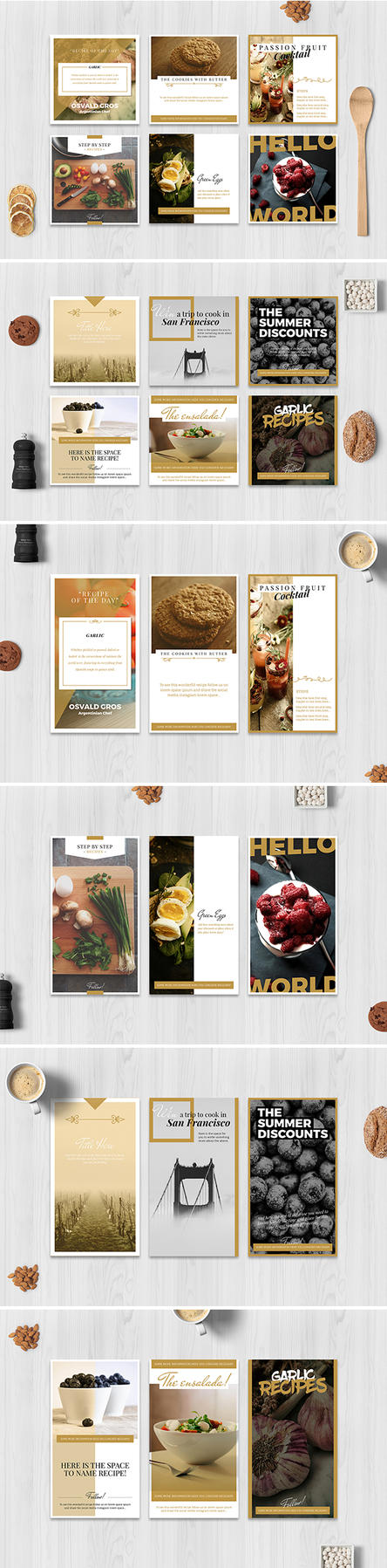 Food Social Media Pack by luuqas