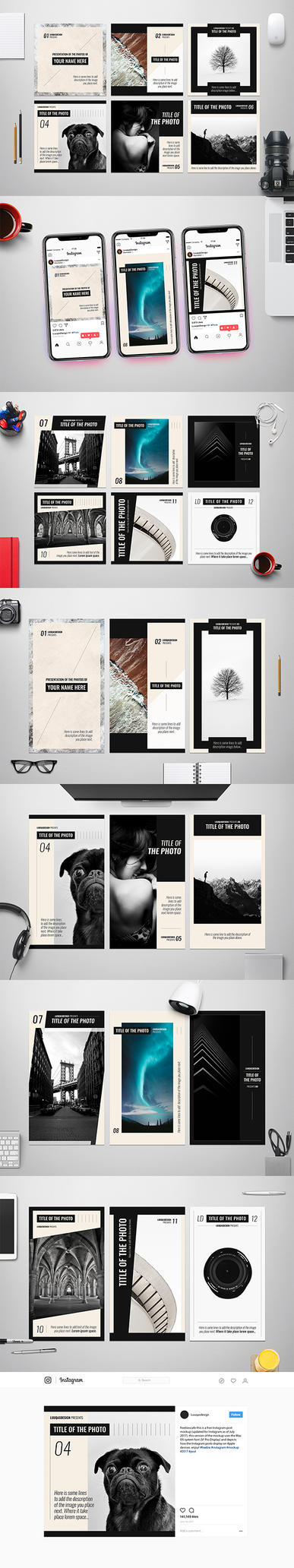 Photography Social Media Templates by luuqas