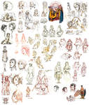 .:: Sketchdump Hominus 01 ::. by Maiwenn