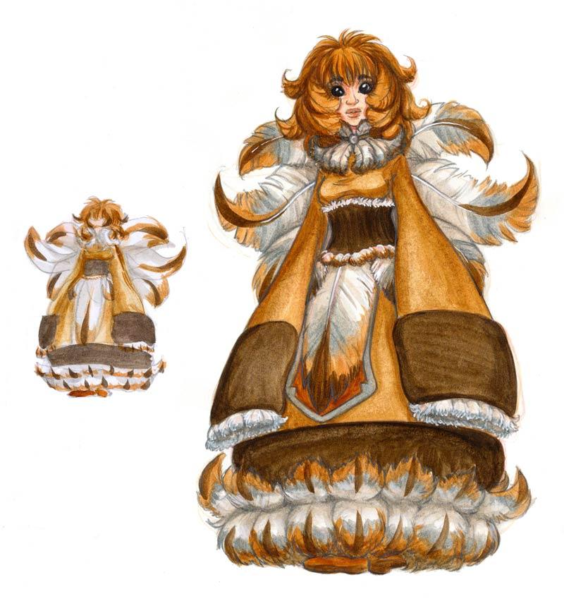 .:: Queen of fluff ::. by Maiwenn
