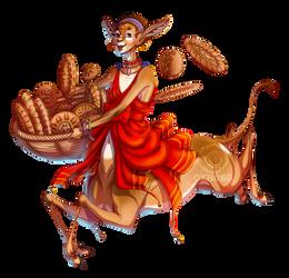 Gerenuk Beeguh [SOLD] by Maiwenn