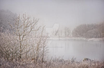 Winter at Lough Corrib by Flash-and-Flair