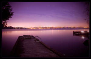 Dock, At Night by MushroomMagic