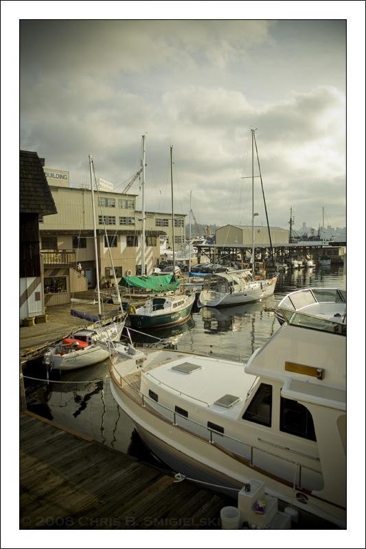 Sailboats by MushroomMagic