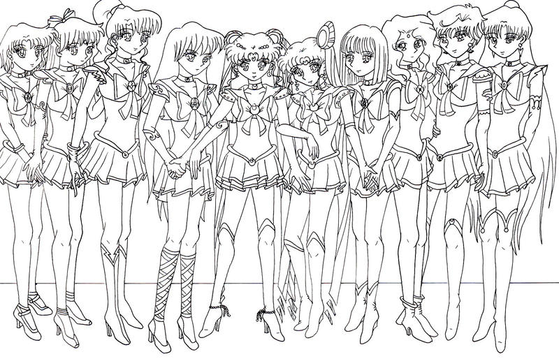 sailor scouts once more by moonlightromance16