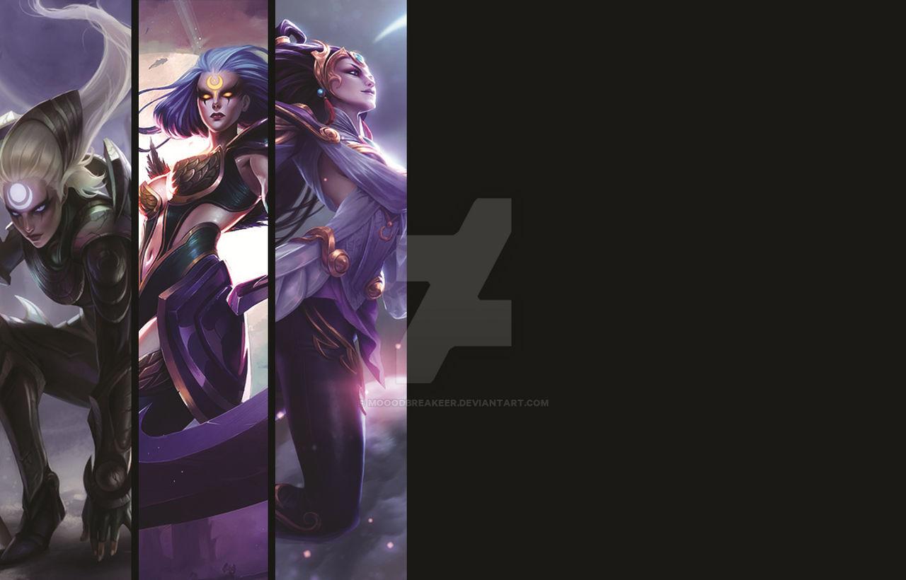 League Of Legends Diana Wallpaper By Mooodbreakeer On Deviantart