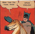 Speak English!