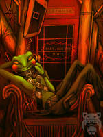 Fall Of The Frog Prince by Ruedefaux