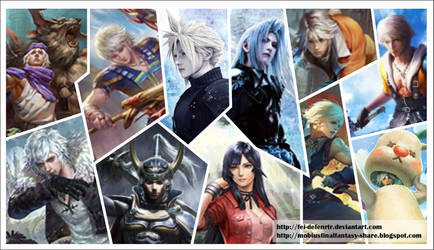 Mobius Final Fantasy Job Cards by Fei-deFenrir