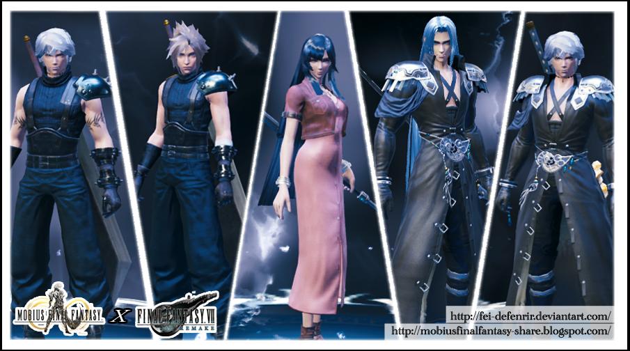 Mobius Final Fantasy - FF7 Collabs [Fei deFenrir] by Fei-deFenrir
