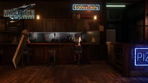 Final Fantasy VII Remake - Cloud  Tifa (2)