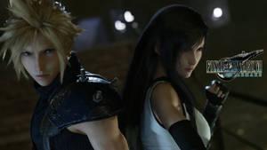 Final Fantasy VII Remake - Cloud  Tifa