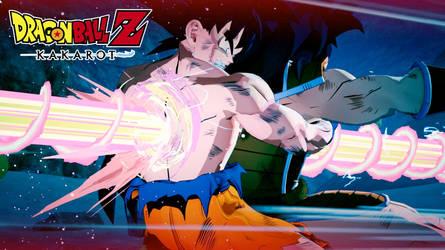 Dragon Ball Z Kakarot - Piccolo kills Goku