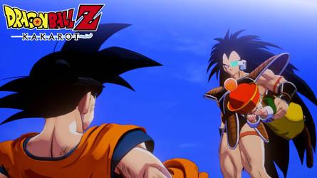 Dragon Ball Z Kakarot - Raditz kitnaps Gohan