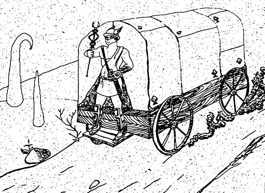 Self-propelled van of Jupiter. by mawgly79