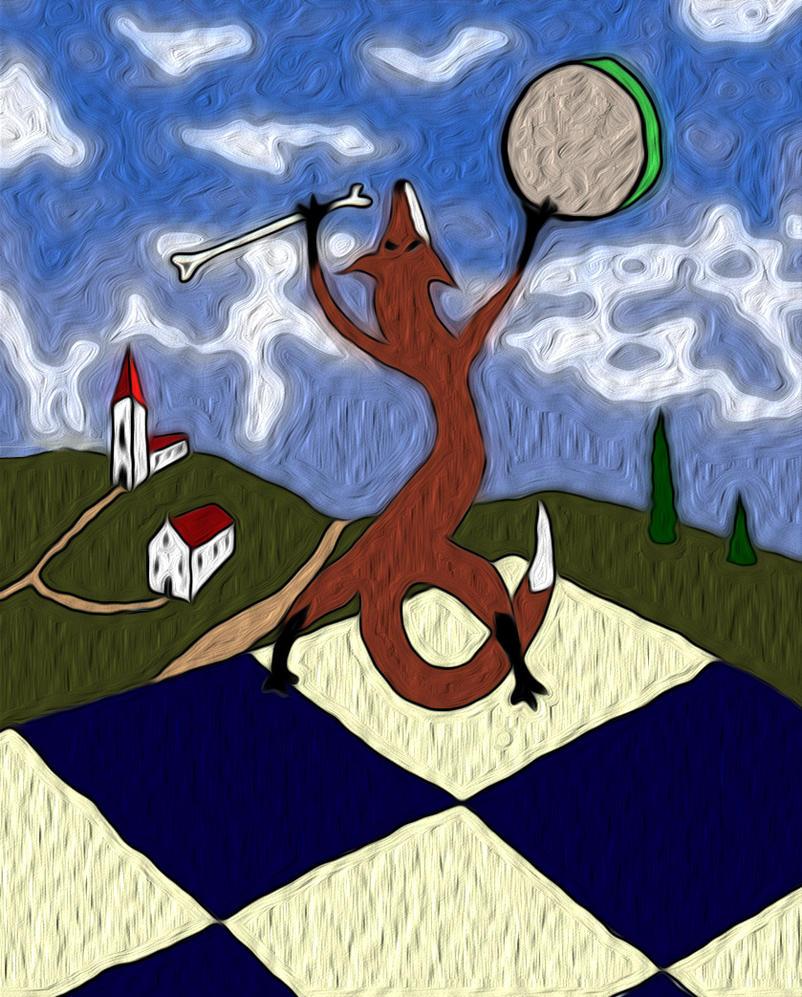 shamanic fox III by mawgly79
