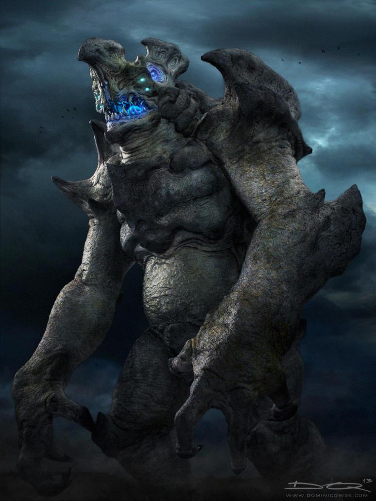 Kaiju (Hachiwara) by DominicQwek on DeviantArt Pacific Rim