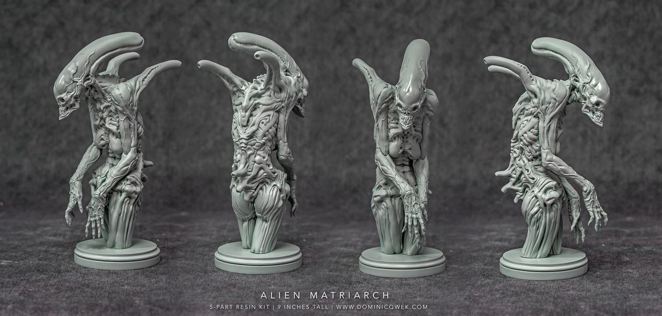Alien Matriarch by DominicQwek
