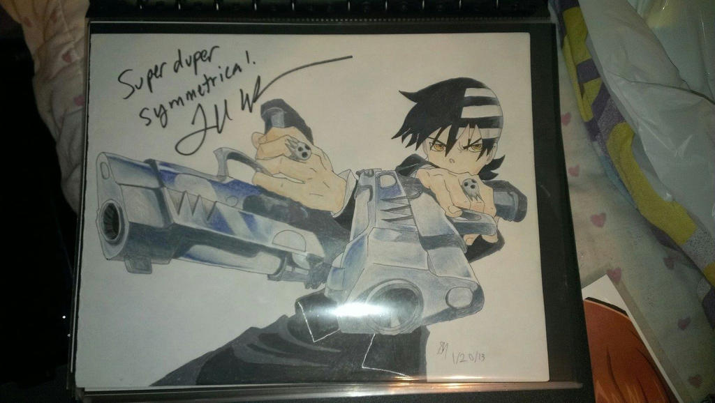 My *Symmetry* autographed by Todd Haberkorn by hinatameerkat