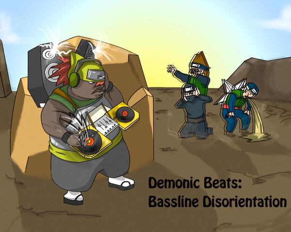 OC- Ryota Endo - Demonic Beats by HiMyNameIsBlargh