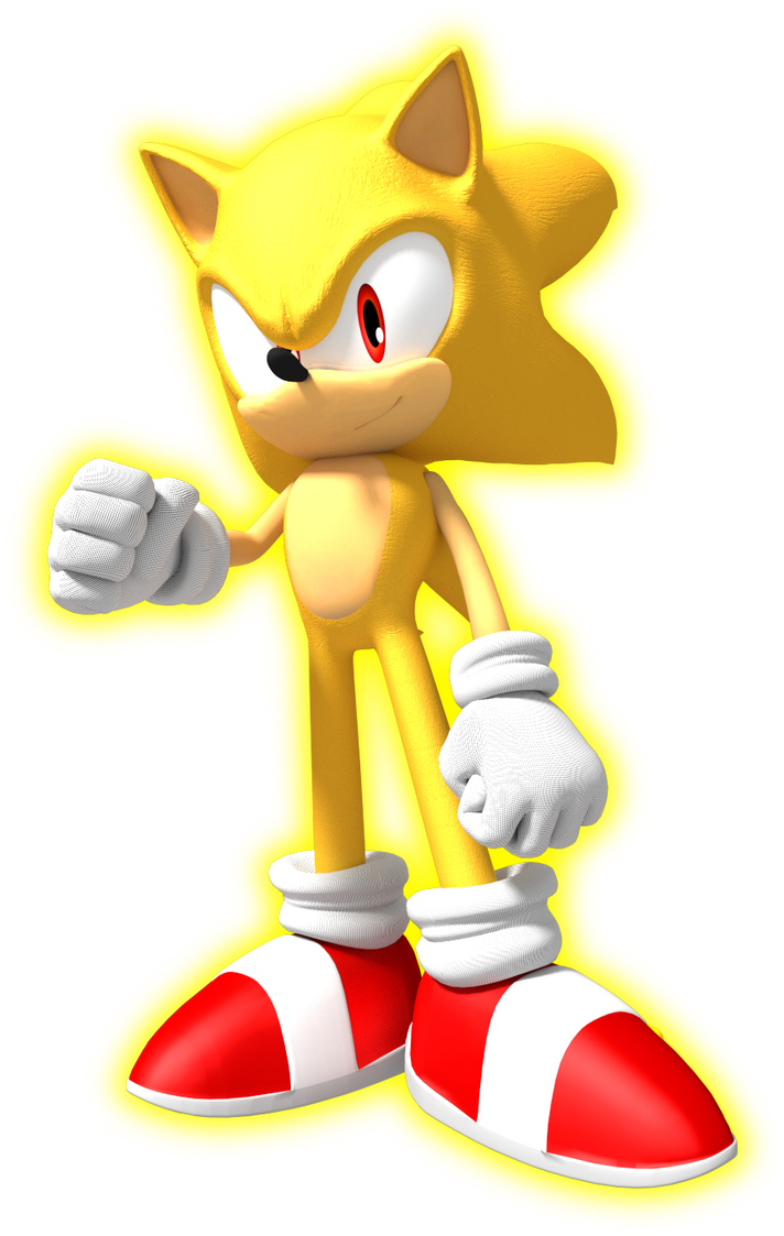 Super Sonic The Hedgehog By Jogita6 On DeviantArt