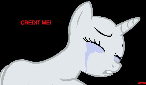 sad pony base by mrstealyospoopygoot on deviantart