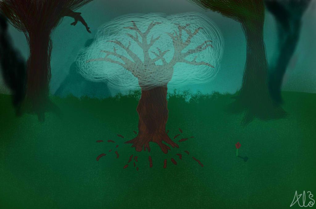 The Gleaming Grove by aloistrancy1239