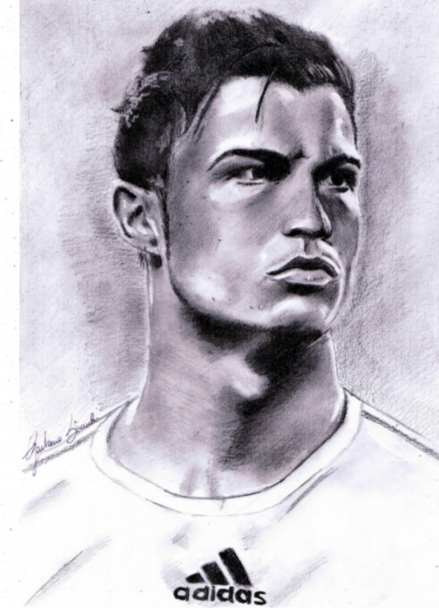 Cristiano Ronaldo by gaetanosimonetti on DeviantArt