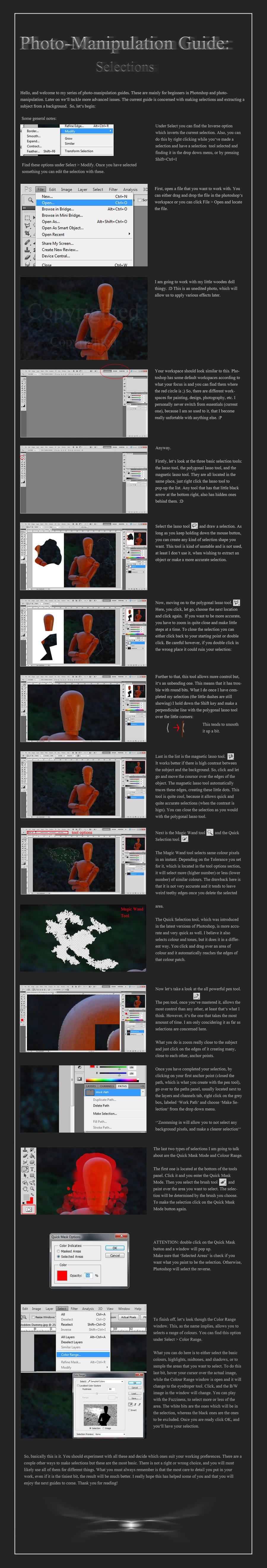 Photo-Manipulation Guide 1 by Serkenil