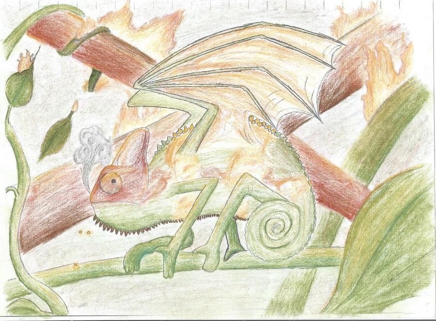 The Drageleon by tru-wulf