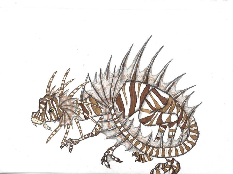 Lionfish Dragon by tru-wulf