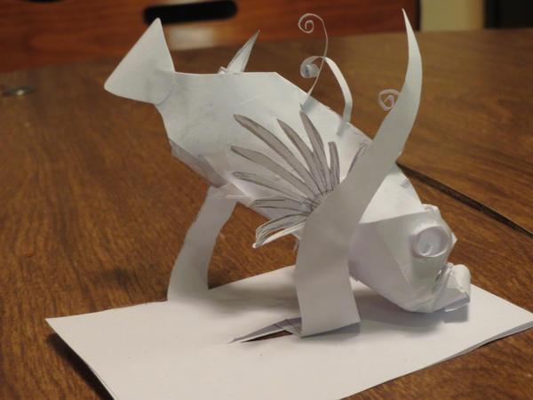 Mini Lionfish Practice Model by tru-wulf