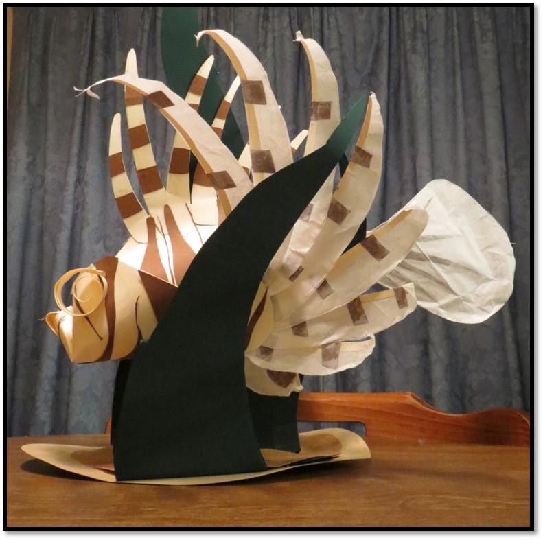 Paper Lionfish by tru-wulf