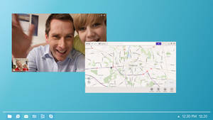 Windows 8 Desktop Concept