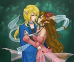 commission:Kisara and Logan