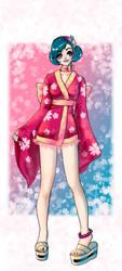 Sushi girl Nismo by C4mi