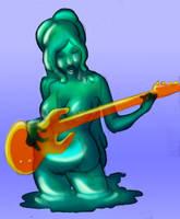 Aqua slime by ithasnosoul