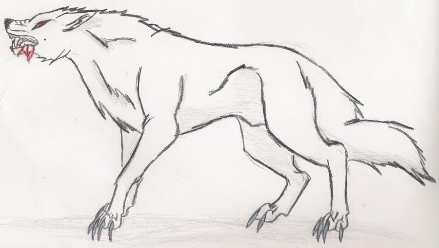 Poison wolf by KLSenko