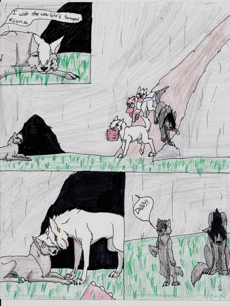Last Spirits chapter1 page 2 by KLSenko