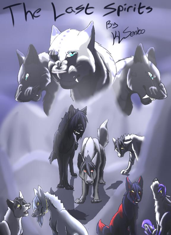 The Last Spirits Graphic Novel Cover by KLSenko