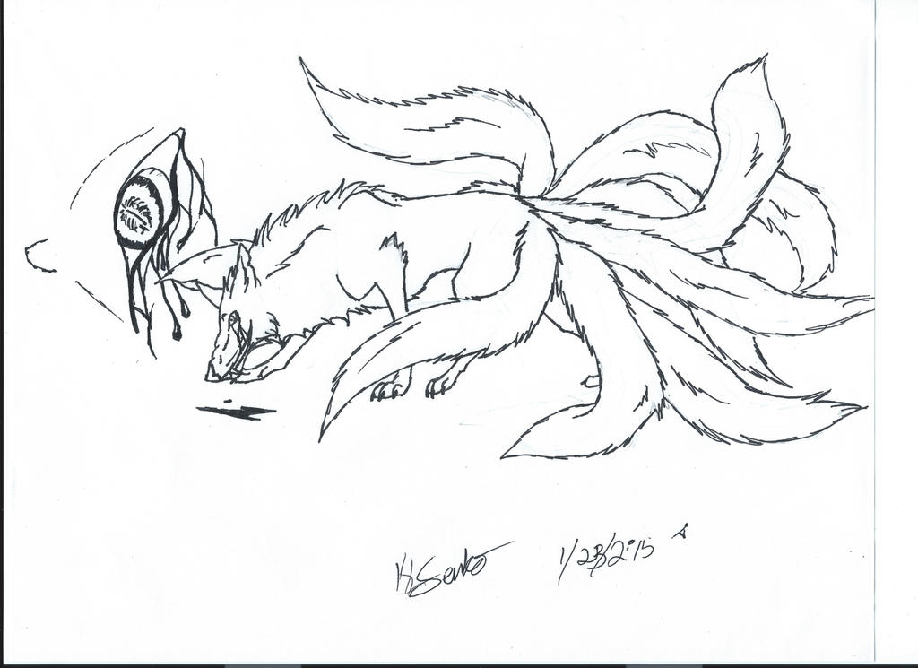 Demon doodle! by KLSenko