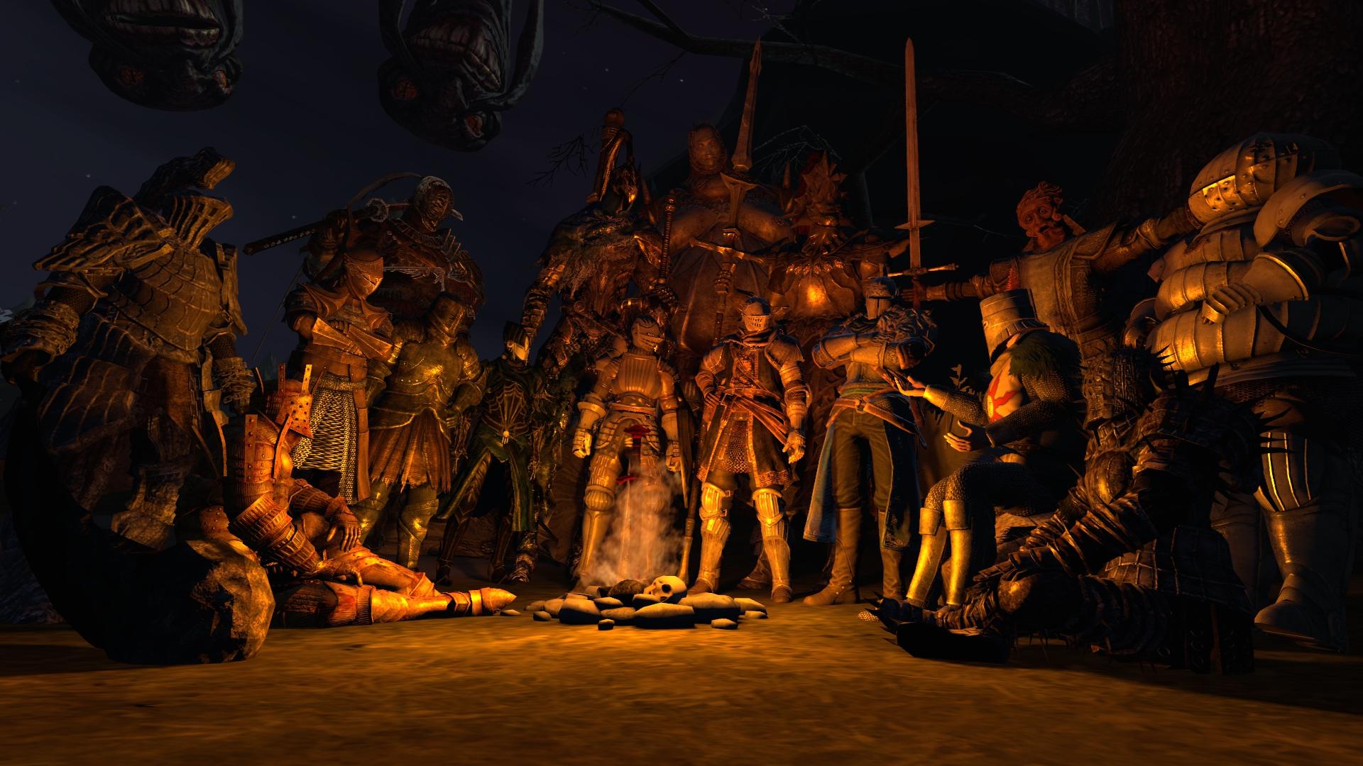 Dark Souls Bonfire Thing By Mirabeau Studios On Deviantart