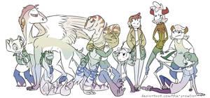 Pride Characters