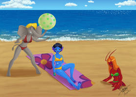 Freaky Beach by superjay15