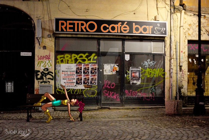 Retro Cafe by superjay15