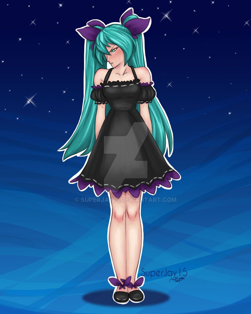 Angry Miku By Superjay15 On DeviantArt