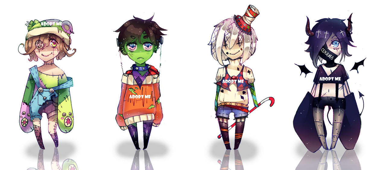 Halloween Adoptables Patch [OPEN 1/4] by hot-blood-artist