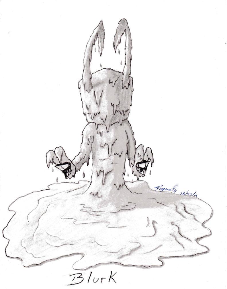 Blurk Sketch by XxDragonadarkxX