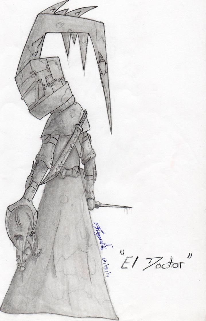 El Doctor Sketch by XxDragonadarkxX