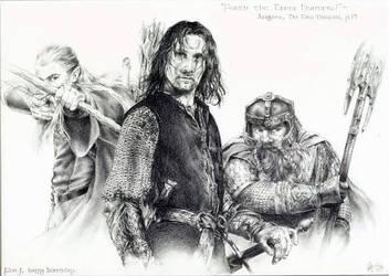 The Three Hunters by hazyshade